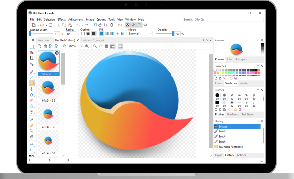 icofx - The Professional Icon Editor